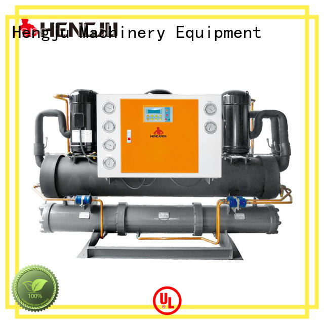 multi-functional water cooling chiller screw supplier for plastic products
