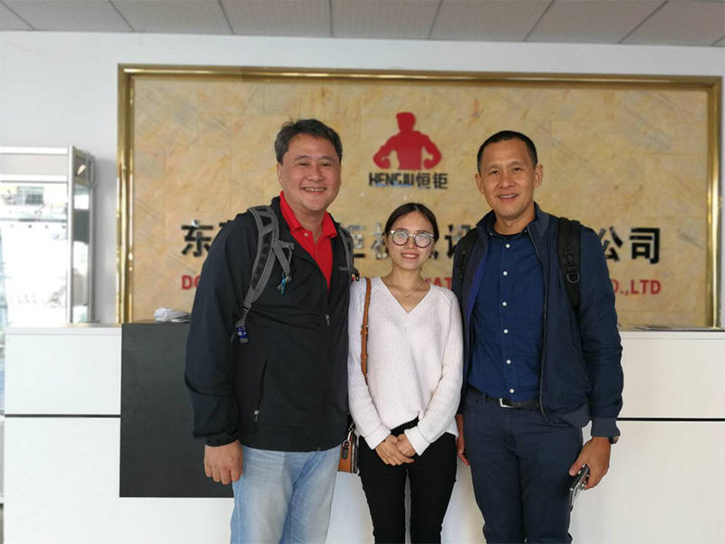 Our Philippine Customer Visit Hengju