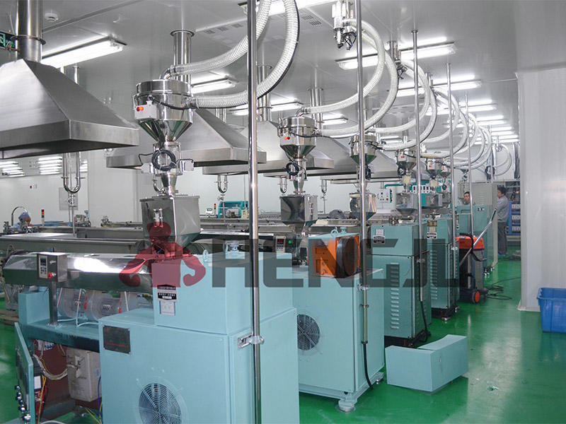 Medical industry central conveying system