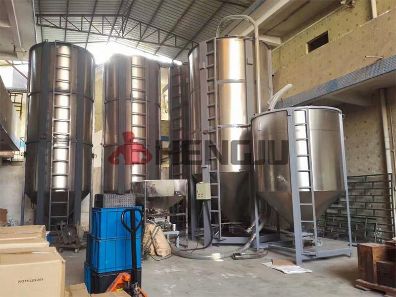 PP silos storage system