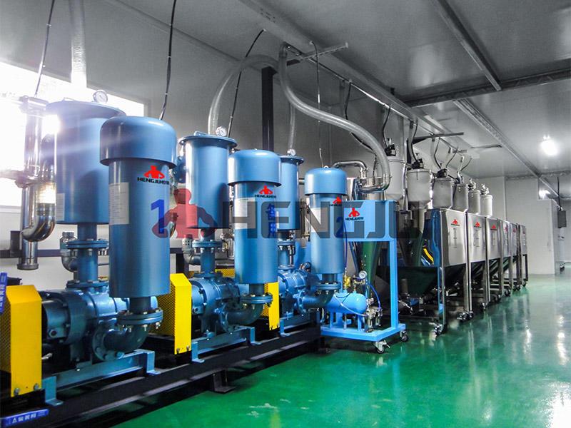 PS granule material handling system