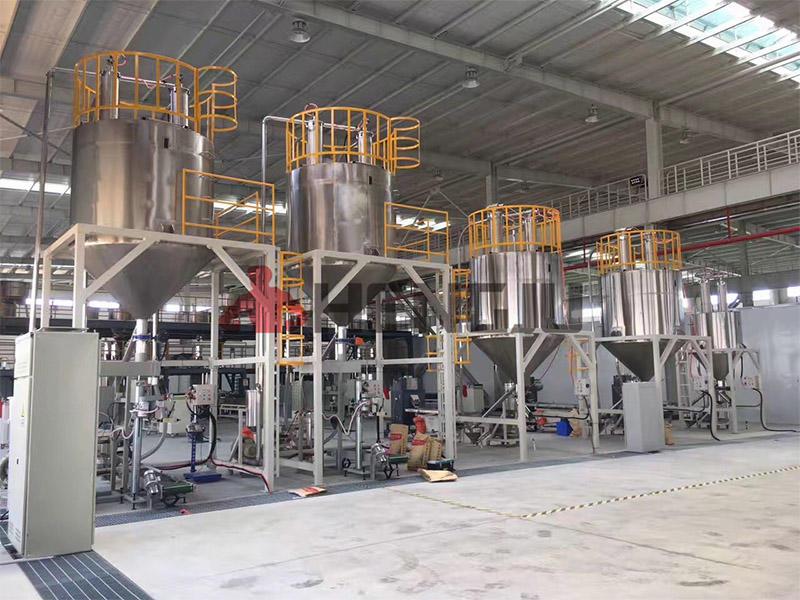PVC pelletizer crushing system