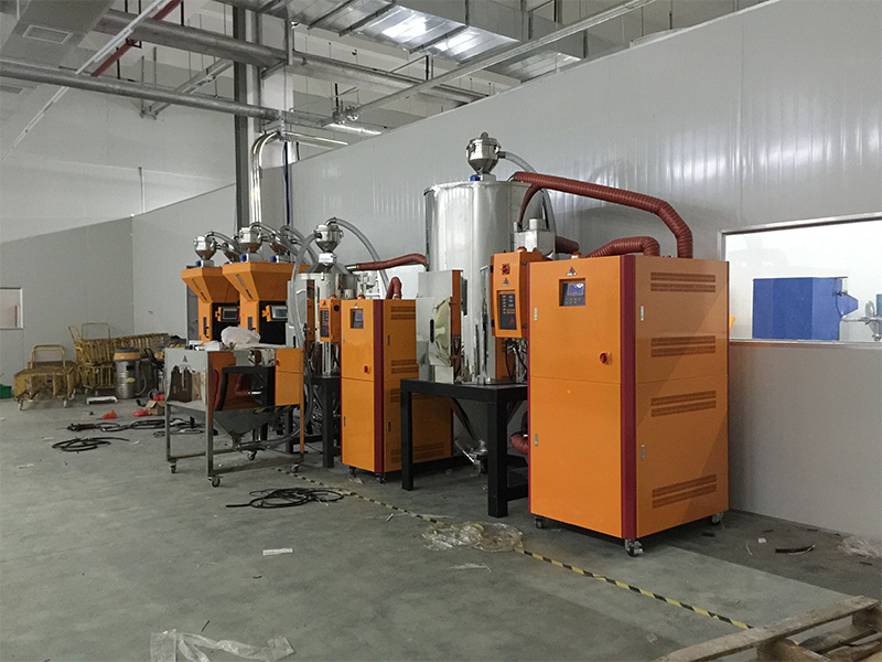 Hengju batch resin dryer factory for profiles-5