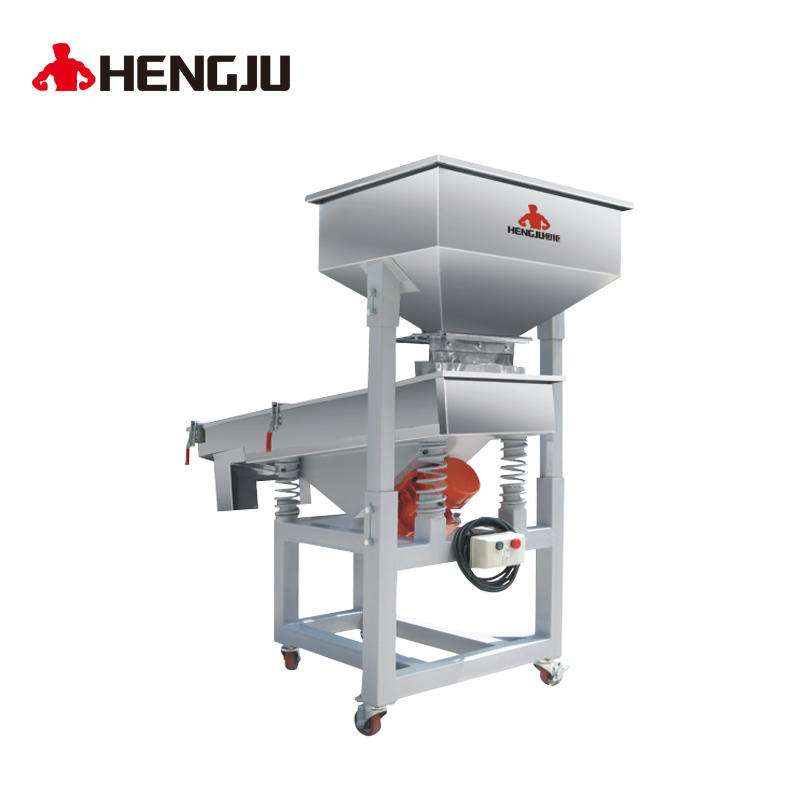 Linear vibrating screen / Vibration sieving machine