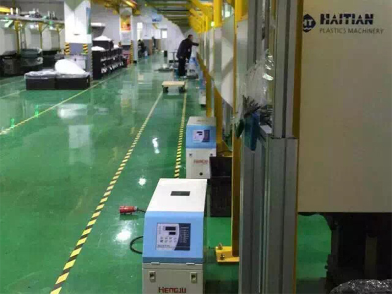 Hengju easy operation air chiller for plastic products-1