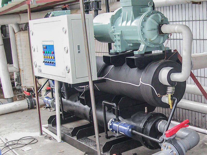 Hengju chiller water cooled chiller for plastic products