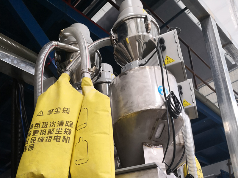 Hengju powder hopper loader for new materials-1