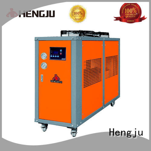 Hengju cooling air cooled chiller supplier for plastic industry