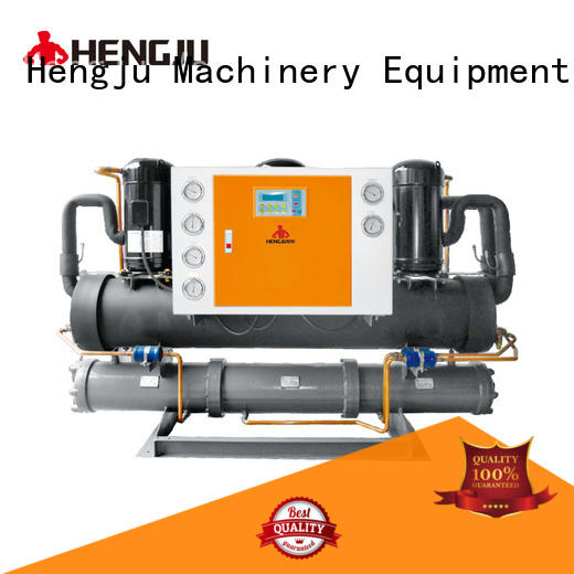 Hengju easy operation water cooling chiller long-term-use for plastic industry
