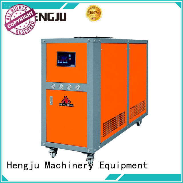 Hengju cooled water chiller supplier for plastic industry
