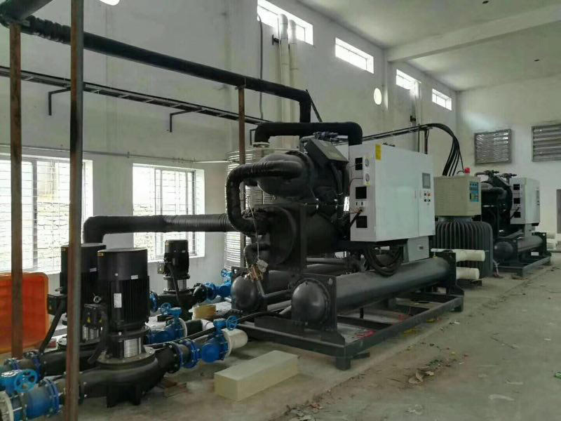 Hengju portable water cooled chiller long-term-use for plastic industry-3