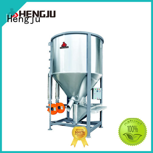 gravimetric vertical blender horizontal mixing Hengju company