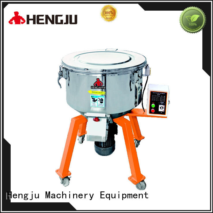 Hengju feeder vertical blender free design for plastic industry