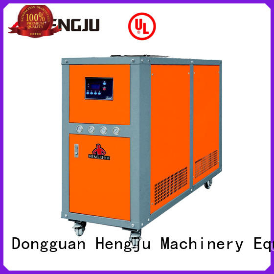Hengju small footprint water cooling chiller supplier for plastic industry