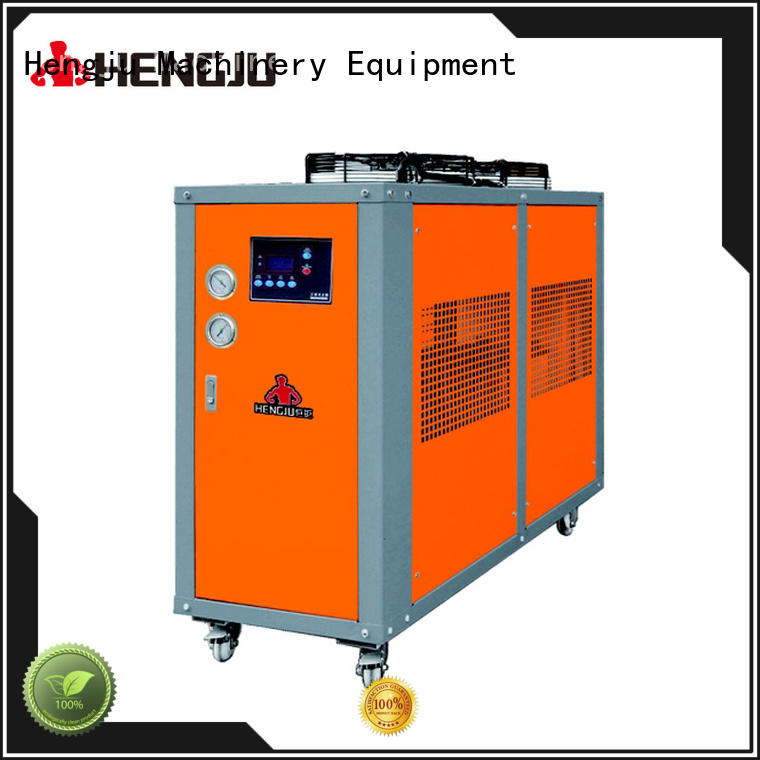 Hengju easy operation process chillers certifications for new materials