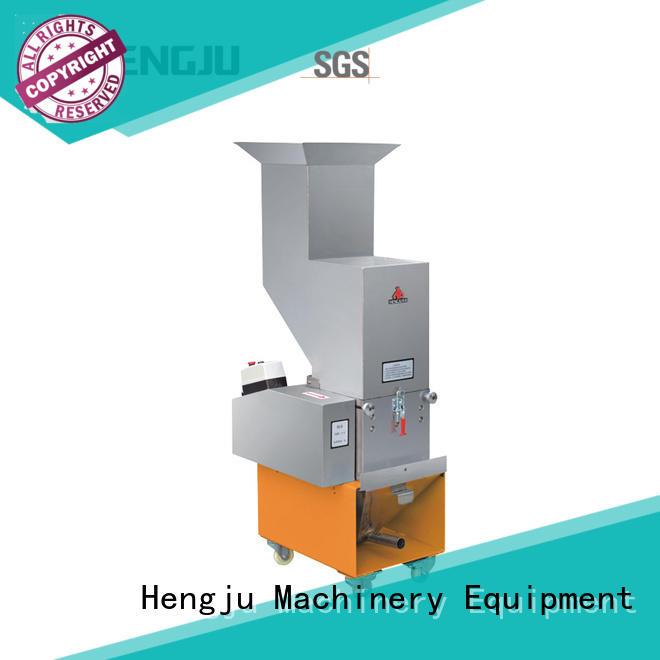 Hengju low dust plastic crusher machine equipment for plastic products