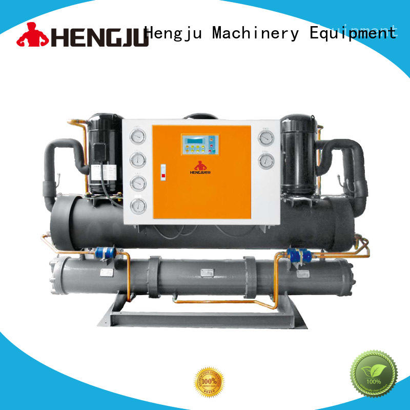 Hengju portable water cooled chiller long-term-use for plastic industry