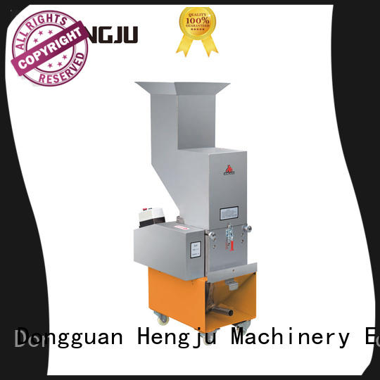 Hengju Brand linear medium plastic crusher machine manufacture