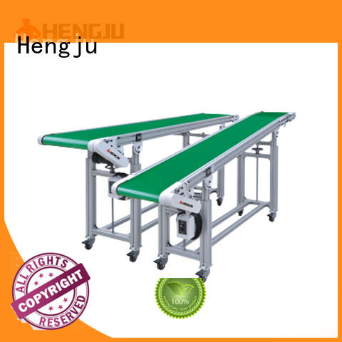 Hengju Brand intermittent signals height belt conveyor