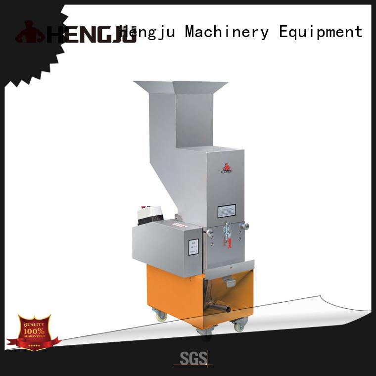 Hengju durable plastic crusher machine equipment for plastic industry