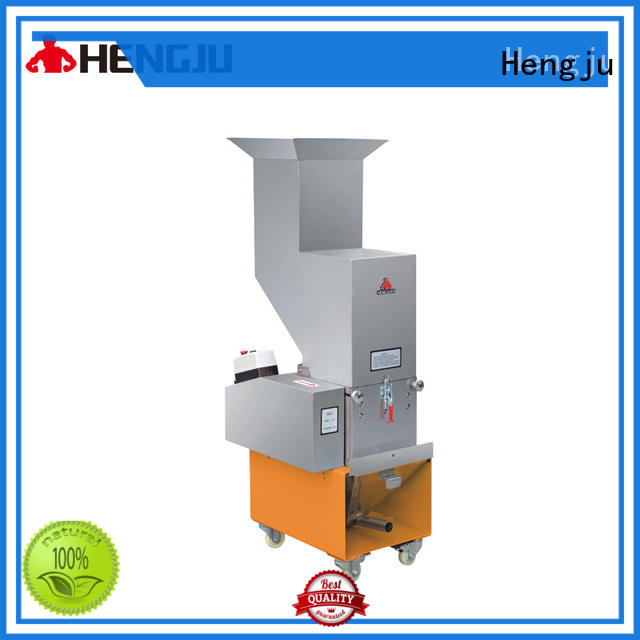 Hengju good out-coming plastic crusher machine equipment for new materials