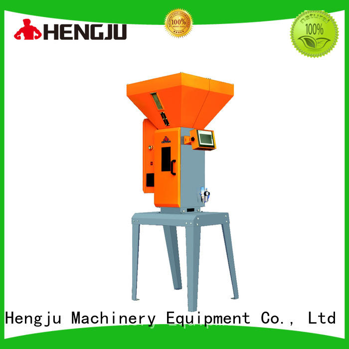 Hengju stainless volumetric dosing bulk production for plastic industry
