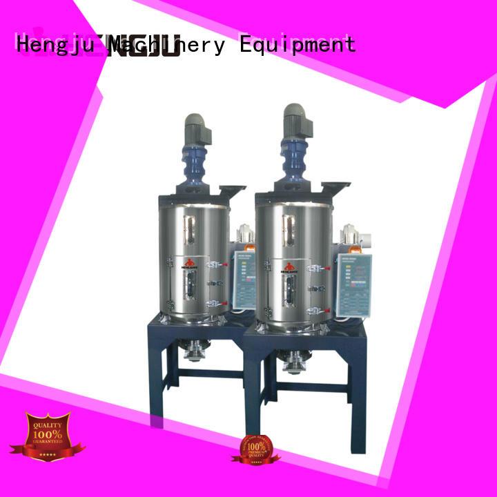 moisture integrated dryer crystalization Hengju company