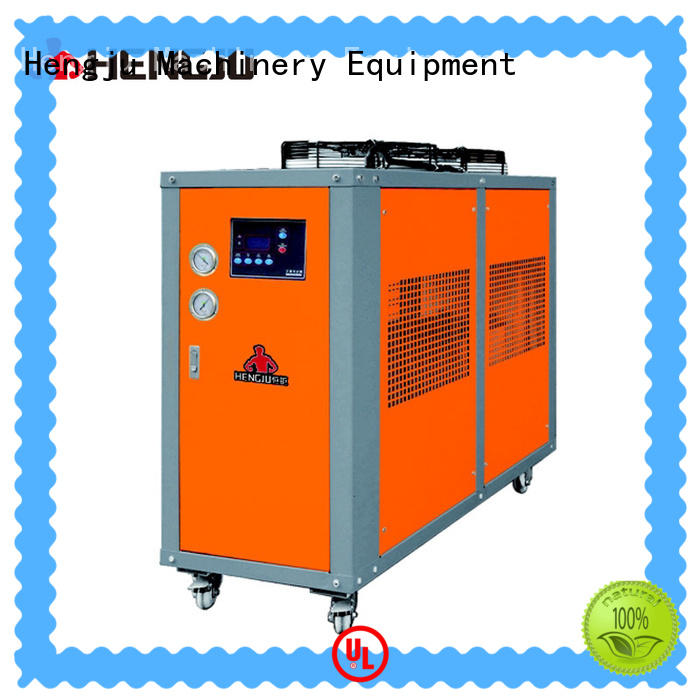 Hengju multi-functional chiller certifications for new materials