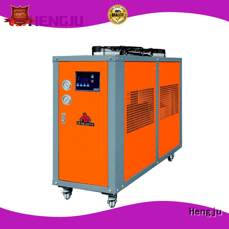 Hengju easy operation water cooled chiller mtc for plastic products