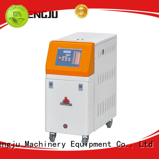 Hengju portable water cooling chiller certifications for plastic products