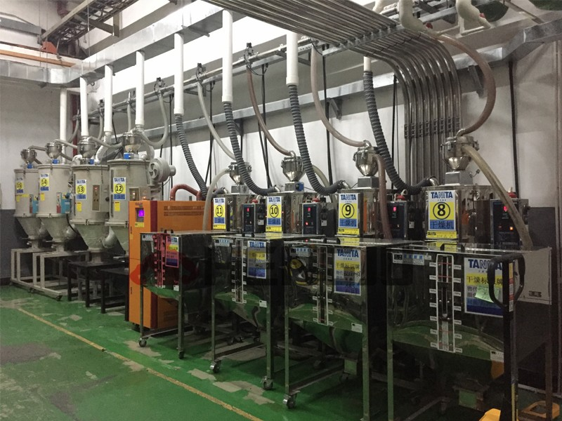 Central conveying systems / Central material conveying system-4