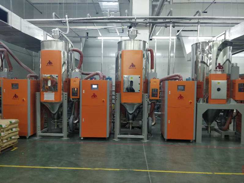 Hengju batch resin dryer factory for profiles