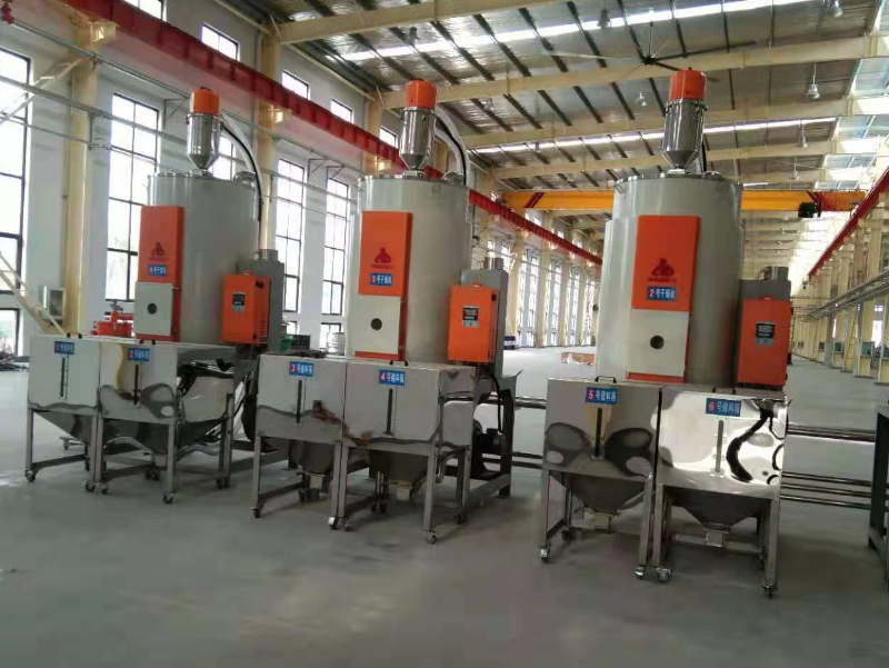 Hengju material drying hoppers for cable sheathing-7