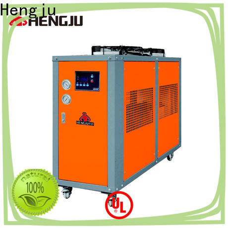 Hengju oil air cooled chiller certifications for plastic industry