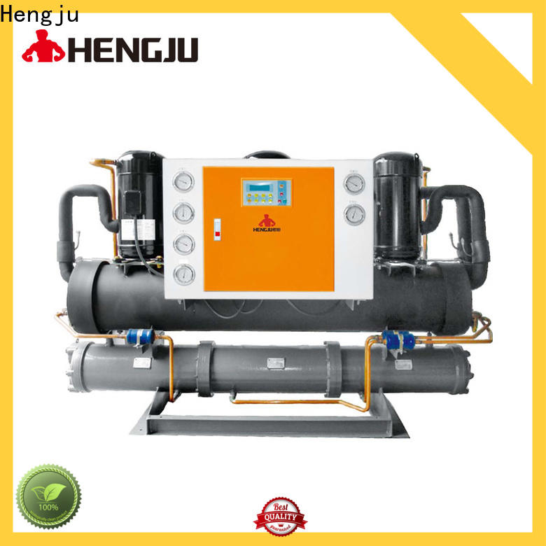 easy operation chiller portable vendor for plastic products