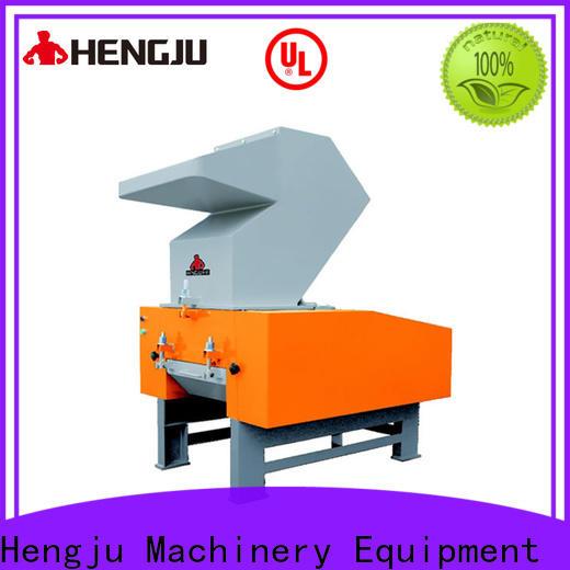 Hengju machine plastic shredder factory for plastic industry