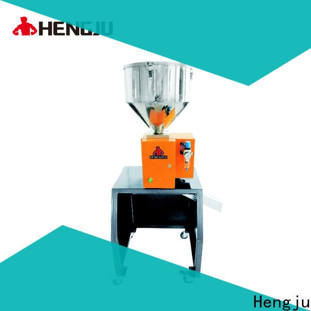 Hengju vibration plastic crusher machine factory for plastic products