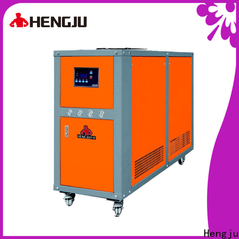 Hengju small footprint process chillers certifications for new materials