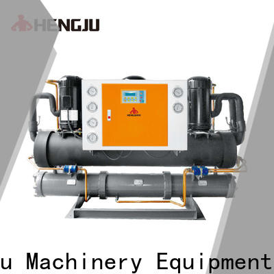 Hengju chillers water cooled chiller long-term-use for new materials