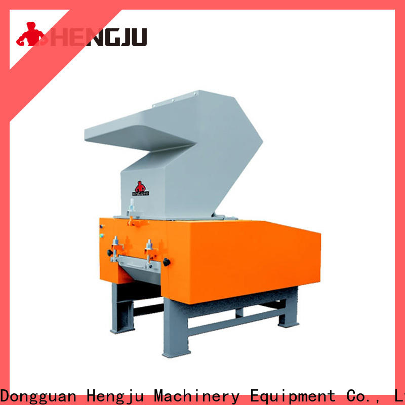 Hengju valves plastic crusher equipment for plastic products