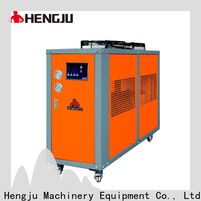 Hengju cooling water chiller vendor for plastic products