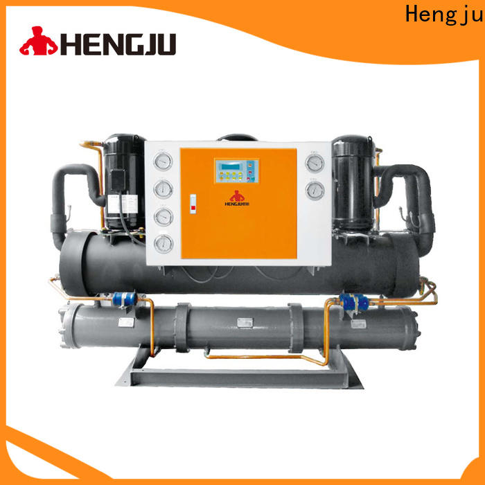 Hengju injection process chillers supplier for new materials