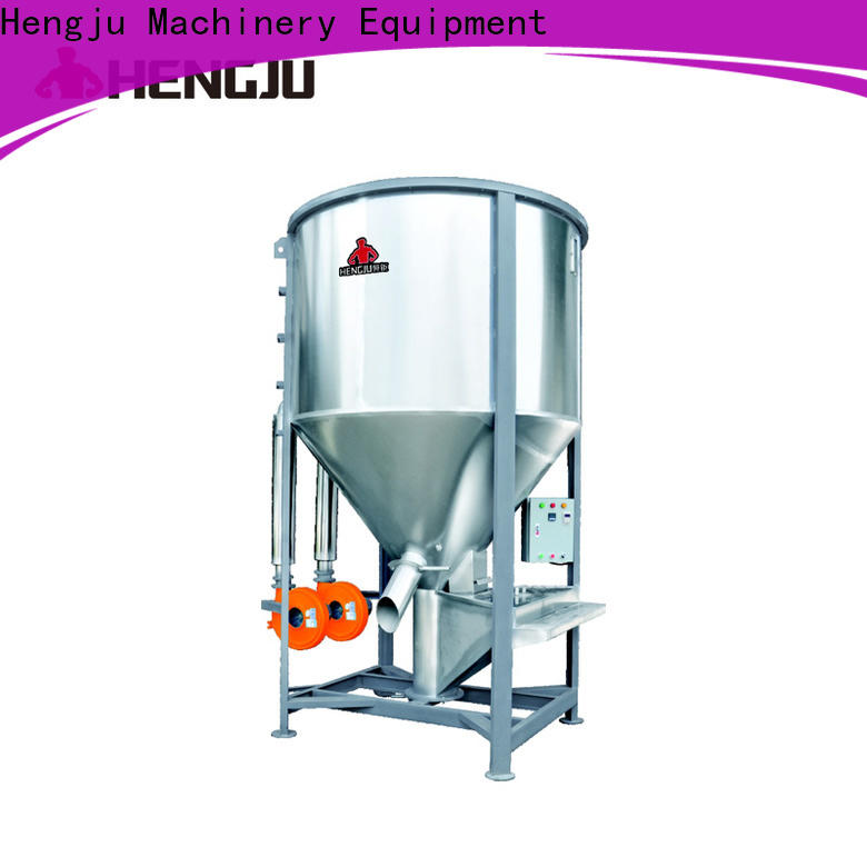low noise gravimetric blender horizontal widely-use for plastic industry