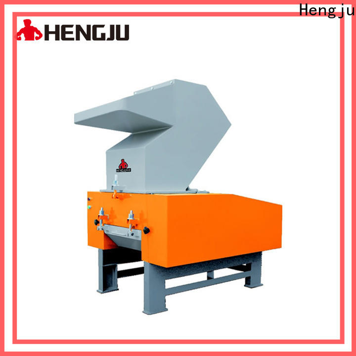 Hengju high crushing power plastic crusher factory for plastic industry