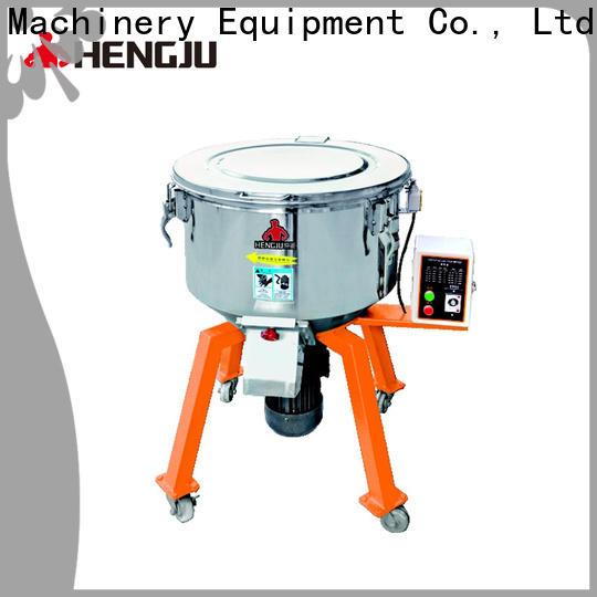 Hengju easy to clean gravimetric blender free quote for plastic industry