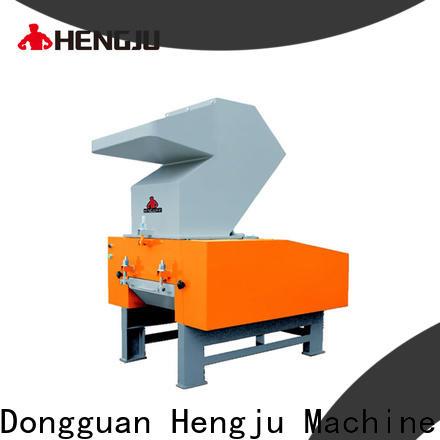 Hengju low dust plastic grinder manufacturer for plastic industry