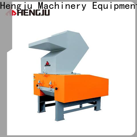 Hengju metal plastic crusher effectively for new materials