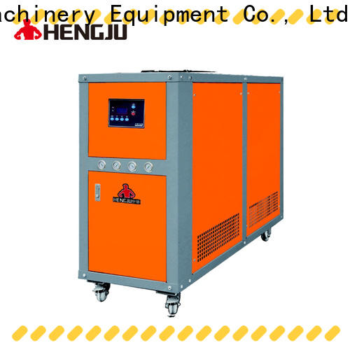 Hengju oil water chiller certifications for plastic products