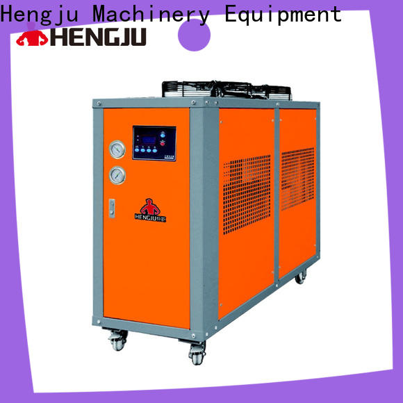 durable water cooled chiller machine certifications for plastic industry