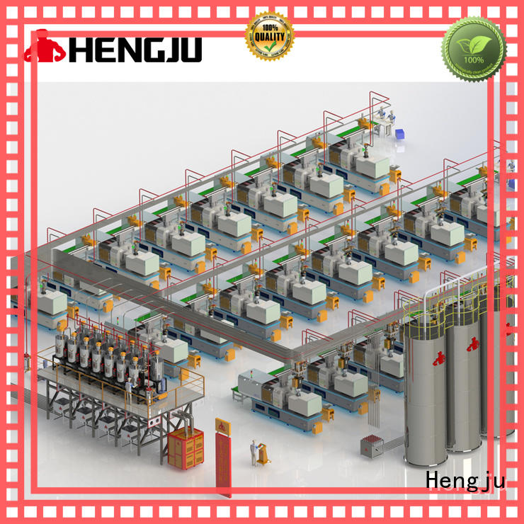 Hengju material central conveying systems testing for films